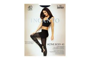 Колготки жіночі Incanto Active Body 40den 3-M nero