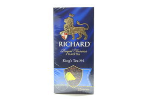 Чай черный King's Tea №1 Richard к/у 25х2г
