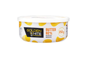 Масло 82% вершкове Golden White ст 250г