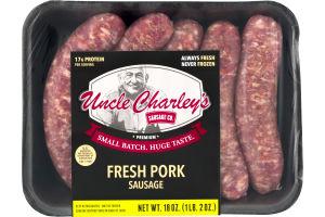 Uncle Charley's Sausage Co. Fresh Pork Sausage