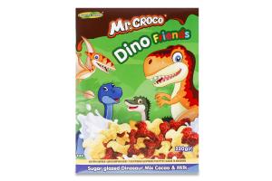 Сніданок сухий з какао та молоком Динозаврики Мікс Mr. Croco к/у 220г