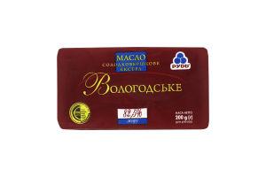 Масло 82.5% сладкосливочное Вологодское Рудь м/у 200г
