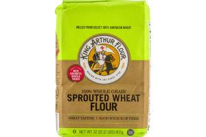 King Arthur Flour 100% Whole Grain Sprouted Wheat Flour