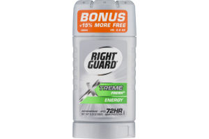 Right Guard Antiperspirant Deodorant Xtreme Fresh Energy