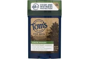Tom's Of Maine For Men Antiperspirant Deodorant North Woods