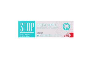 Паста зубная для чувствительных зубов Stop Sensitivity Edel+White 75мл