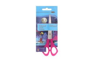 Ножницы для левши розовые №ZB.5002-10 Zibi 1шт