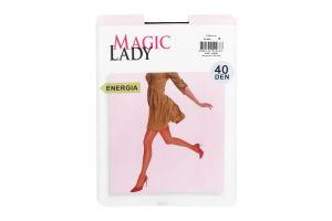 Колготки жіночі Magic Lady Energia 40den 3 black