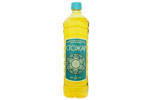 Масло рафинированное подсолнечно-оливковый микс Шеф Стожар п/бут 0.85л