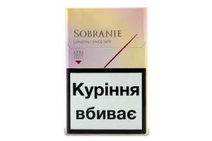 Цигарки Sobranie Golds 20шт