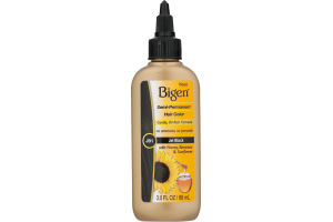 Bigen Semi-Permanent Hair Color with Honey, Beeswax & Sunflower Jet Black