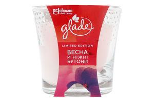 Свічка ароматизована Весна й ніжні бутони Glade 1шт
