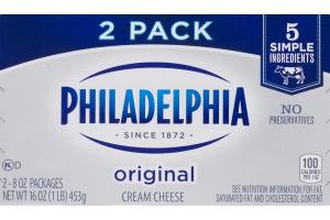 Philadelphia Cream Cheese Original - 2 PK