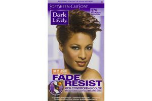 Dark And Lovely Fade Resist Rich Conditioning Color 374 Rich Auburn