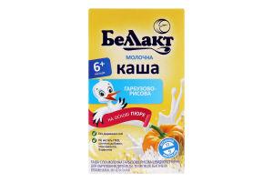 Каша молочна гарбузово-рисова для дітей від 6міс Беллакт к/у 200г