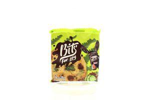 Печиво Bits for joy з мол.шоколадом та лайм.цукатами 50г х36