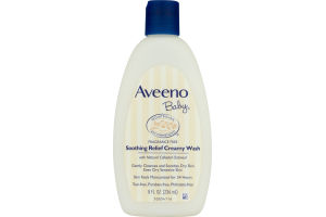 Aveeno Baby Soothing Relief Creamy Wash Fragrance Free