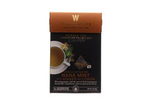 Чай травяной Wissotzky Tea мята-имбирь-лимон