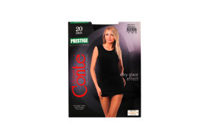 Колготки жіночі Conte Prestige 20den 3-М nero