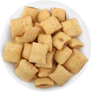 Подушечки крупяные с начинкой из какао Вкусная забава Золоте зерно кг
