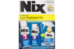 Nix Complete Lice Treatment Kit