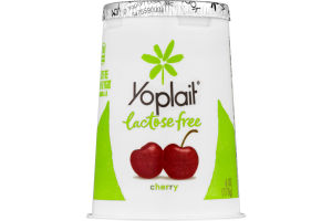 Yoplait Lactose Free Cherry Low Fat Yogurt