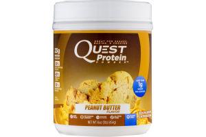 Quest Protein Powder Peanut Butter Flavor