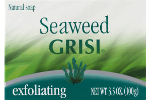 Grisi Seaweed Natural Soap Exfoliating