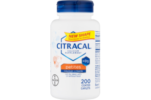 Citracal Calcium Supplement Petites - 200 CT