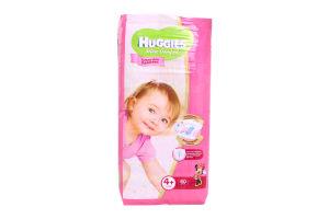Подгузники Ultra Comfort для девочек Huggies10-16кг 60шт