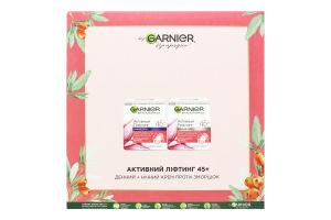Набір косметичний Крем денний+Крем нічний Активний ліфтинг 45+ Skin Natural Garnier 1шт