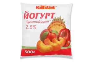 Йогурт Кагма экзотик 2,5% п/э