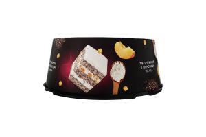 Торт Творожний з персиком та чіа Brioche к/у 0.8кг