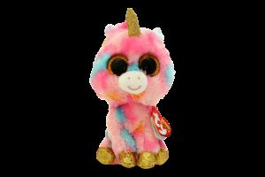 Мягкая игрушка TY Beanie Boo's Единорог Fantasia, 15 см