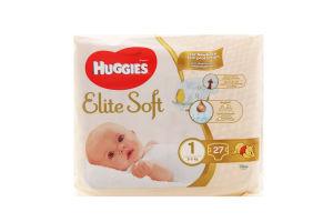 Подгузники детские 5кг Elite Soft Huggies 27шт