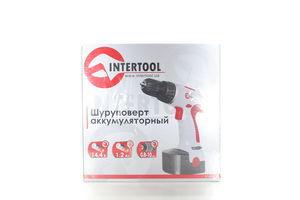 Шуруповерт InterTool акумуляторний 14 4В 1 акумулятор 1 2Ач 0-10 DT-0310
