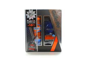 Набір Gillette Fusion ProGlide Бальзам 50мл+Гель 200мл