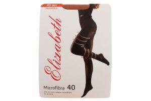 Колготки женские Elizabeth Microfibra 40den 2 visone