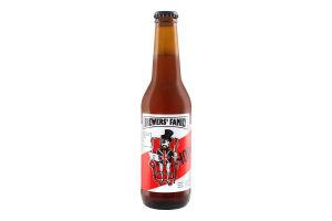 Пиво 5.5% 0.33л полутемное нефильтрованое непастеризованое Hopkins Brewers' Family бут