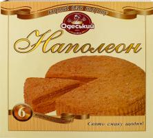 Коржи для торта Наполеон Одеський хлібозавод №4 к/у 6х70г
