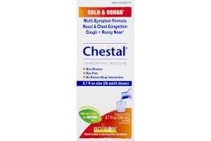 Chestal Cold & Cough Homeopathic Medicine Cough Syrup