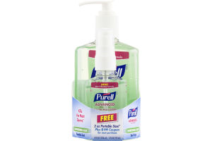 Purell Advanced Hand Sanitizer Refreshing Aloe – 8 oz. Plus 2 oz. Free