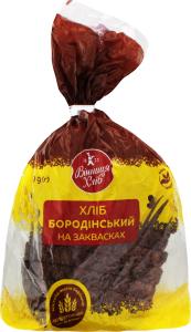 Хліб Бородинський наріз.уп.Хл.Хата 400г