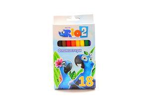 Набор фломастеров Cool for School Rio 18 цветов к/у арт.RI00132