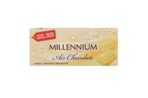 Шоколад білий пористий Millennium м/у 85г