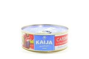 Сардина Kaija в томатному соусі 240г х 24