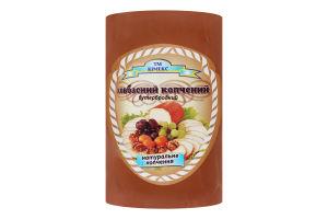 Продукт сырный 40% плавленый колбасный копченый Бутербродный Кімекс кг
