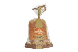 Хлеб нарезной Пшеничный из муки I сорта Рум'янець м/у 350г