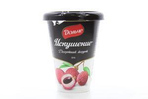 Йогурт Дольче Искушение десертный личи 2,5% стак 330г