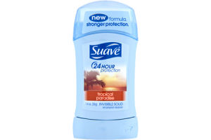 Suave 24 Hour Protection Tropical Paradise Invisible Solid Anti-Perspirant Deodorant